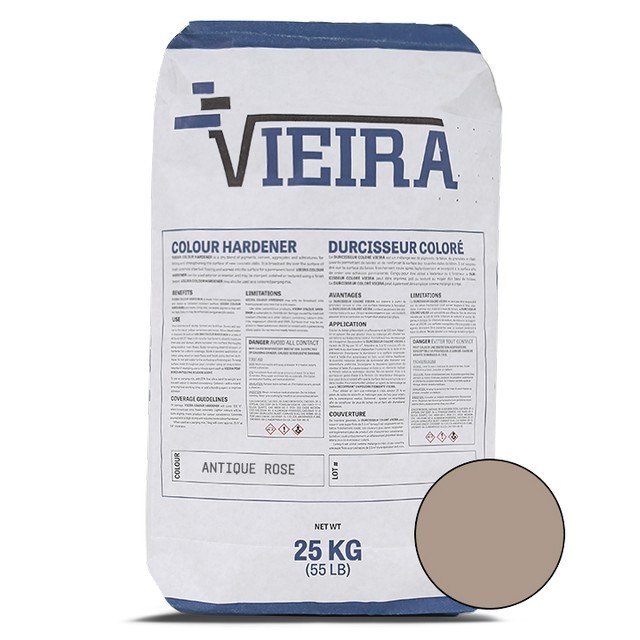 Vieira 25 kg Antique Rose Colour Hardener