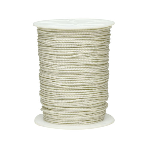 "Anvil American 1/8"" 1000' White Diamond Braided Polyester String Line"