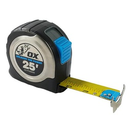 [OXT.<2.P029425] Ox 25' Stainless Steel Tape Measure