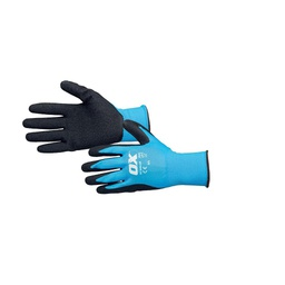 [OXT.<2.S484209] Ox Large Latex Flex Gloves